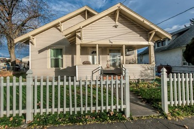 Walla Walla Single Family Home For Sale: 910 8th Avenue
