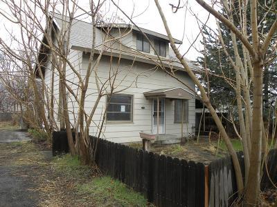 Walla Walla Single Family Home For Sale: 209 Bennett Street