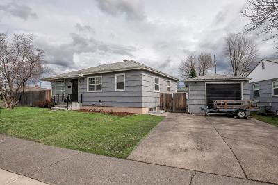 Walla Walla Single Family Home For Sale: 216 Cascade Drive