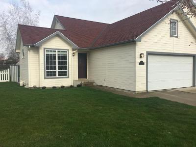 Walla Walla Single Family Home For Sale: 1121 Braeburn Terrace