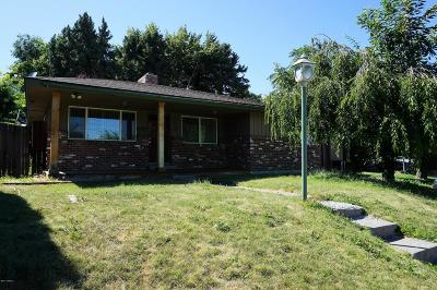 Yakima WA Single Family Home For Sale: $195,000