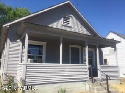 Yakima Single Family Home For Sale: 309 E I St