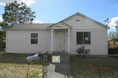 Union Gap Single Family Home For Sale: 4008 S 2nd St
