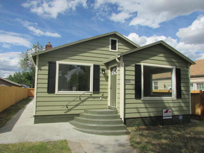Yakima Single Family Home For Sale: 1503 1/2 W Lincoln Ave