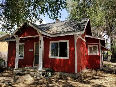 Yakima Single Family Home Ctg Financing: 1109 S 7th St