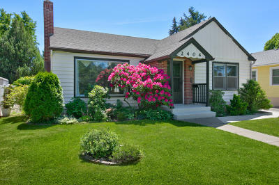 Yakima Single Family Home For Sale: 2404 Barge St