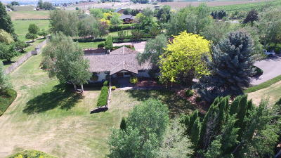 Selah Single Family Home For Sale: 1953 Crusher Canyon Rd