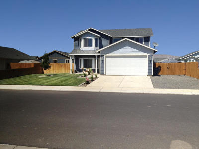 Moxee WA Single Family Home For Sale: $259,000