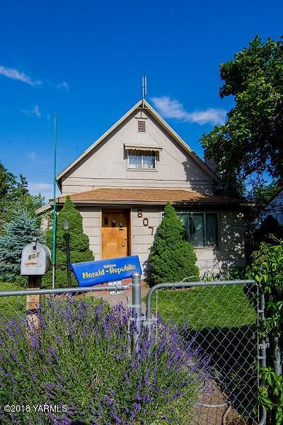 Yakima Single Family Home For Sale: 807 S 4th Ave