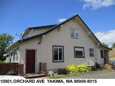 Yakima WA Single Family Home For Sale: $215,000