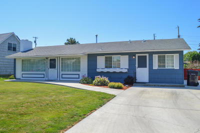 Yakima WA Single Family Home For Sale: $185,000