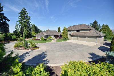 Single Family Home For Sale: 1081 Selah Heights Rd
