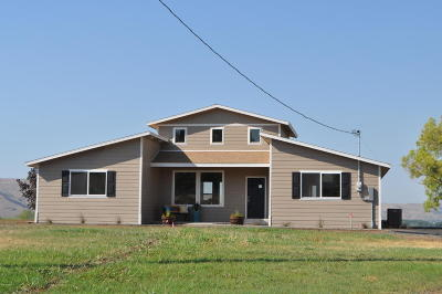 Yakima Single Family Home For Sale: 521 State Route 821