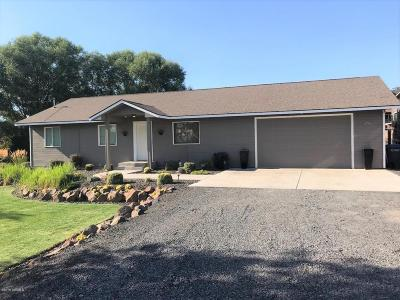 Yakima Single Family Home Ctg Financing: 4701 Roza Hill Dr