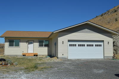 Selah Single Family Home Ctg Financing: 14403 N Wenas Rd