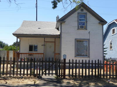 Yakima Single Family Home For Sale: 408 N 7th St