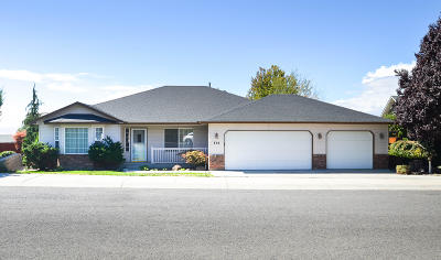 Yakima Single Family Home Contingent: 604 N Tumac Dr