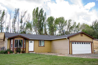 Yakima Single Family Home For Sale: 434 W Canyon Rd