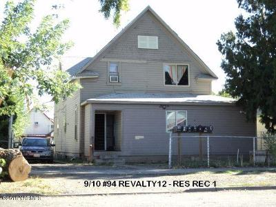 Yakima Multi Family Home For Sale: 111 S 7 St