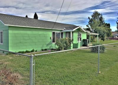 Grandview WA Single Family Home For Sale: $149,500