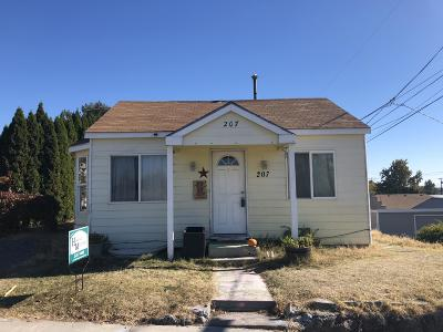 Zillah Single Family Home Ctg Financing: 207 6th St