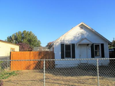 Yakima WA Single Family Home For Sale: $87,000