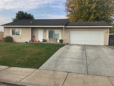 Zillah Single Family Home Contingent: 138 Northstone Pky