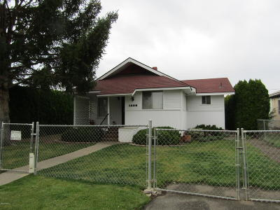 Yakima Single Family Home Ctg Financing: 1308 S 8 St