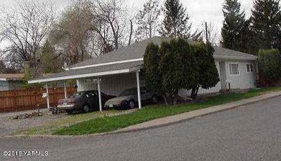Yakima Single Family Home For Sale: 2902 W Arlington St