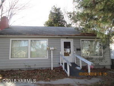 Yakima Single Family Home For Sale: 416 S 26th Ave