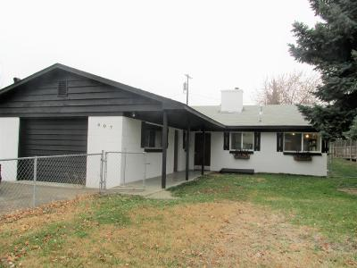 Yakima Single Family Home Ctg Financing: 407 S 49th Ave