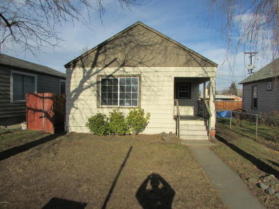 Yakima Single Family Home For Sale: 1503 W Lincoln Ave