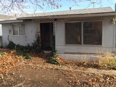 Yakima WA Single Family Home For Sale: $89,900