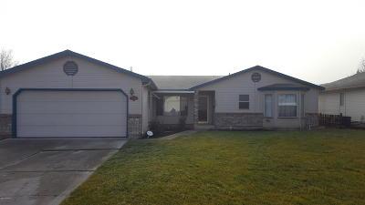 Yakima Single Family Home For Sale: 2706 W King Ct