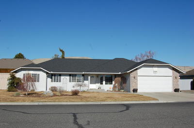 Yakima Single Family Home Ctg Financing: 5501 Pear Butte Dr
