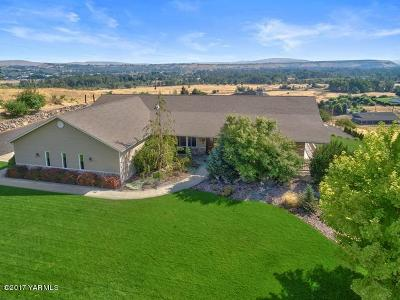 Naches, Cowiche, Tieton, Gleed, Moxee, Union Gap Single Family Home Contingent: 281 Basalt Springs Way