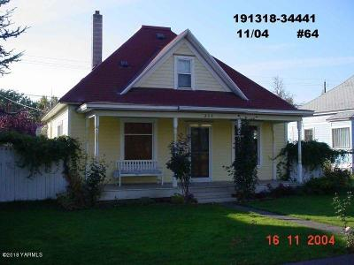 Yakima Single Family Home Ctg Financing: 304 N 6th St