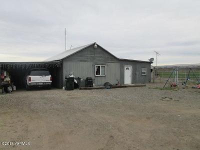 Sunnyside Single Family Home For Sale: 1751 N Outlook Road Ave