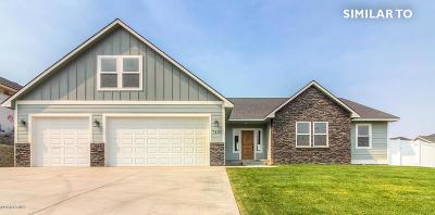 Yakima Single Family Home For Sale: 7003 W Vista Ridge Ave #Lot #5