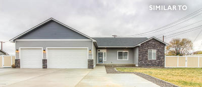 Yakima Single Family Home For Sale: 7103 W Vista Ridge Ave #Lot # 7