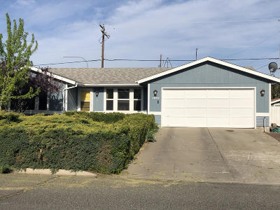 Yakima Single Family Home For Sale: 1501 Valley West Ave