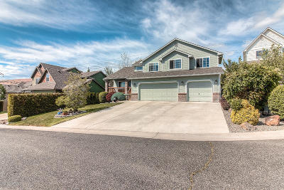 Yakima Single Family Home Contingent: 819 Overbluff Ln