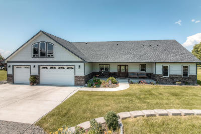 Yakima Single Family Home For Sale: 185 Valley Vista Ln