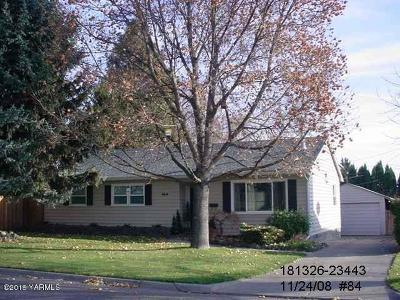 Yakima Single Family Home Ctg Financing: 919 S 29th Ave
