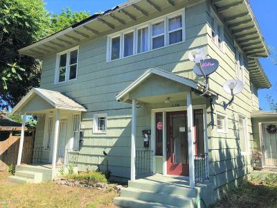 Yakima Multi Family Home For Sale: 2205 Summitview Ave #1-4