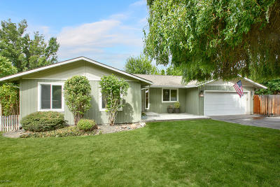 Yakima Single Family Home Contingent: 150 Cedar Hill Dr