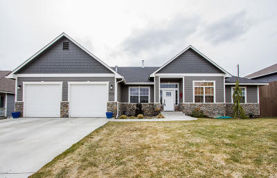 Yakima Single Family Home For Sale: 7824 W Mead Ave