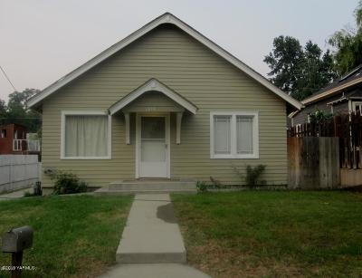 Yakima Single Family Home For Sale: 1810 Summitview Ave