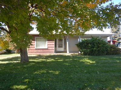 Yakima Single Family Home For Sale: 150 Old Stage Way