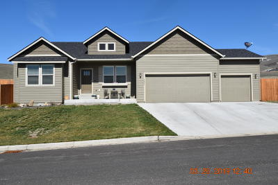 Yakima Single Family Home Ctg Release Clause: 5401 Boulder Way